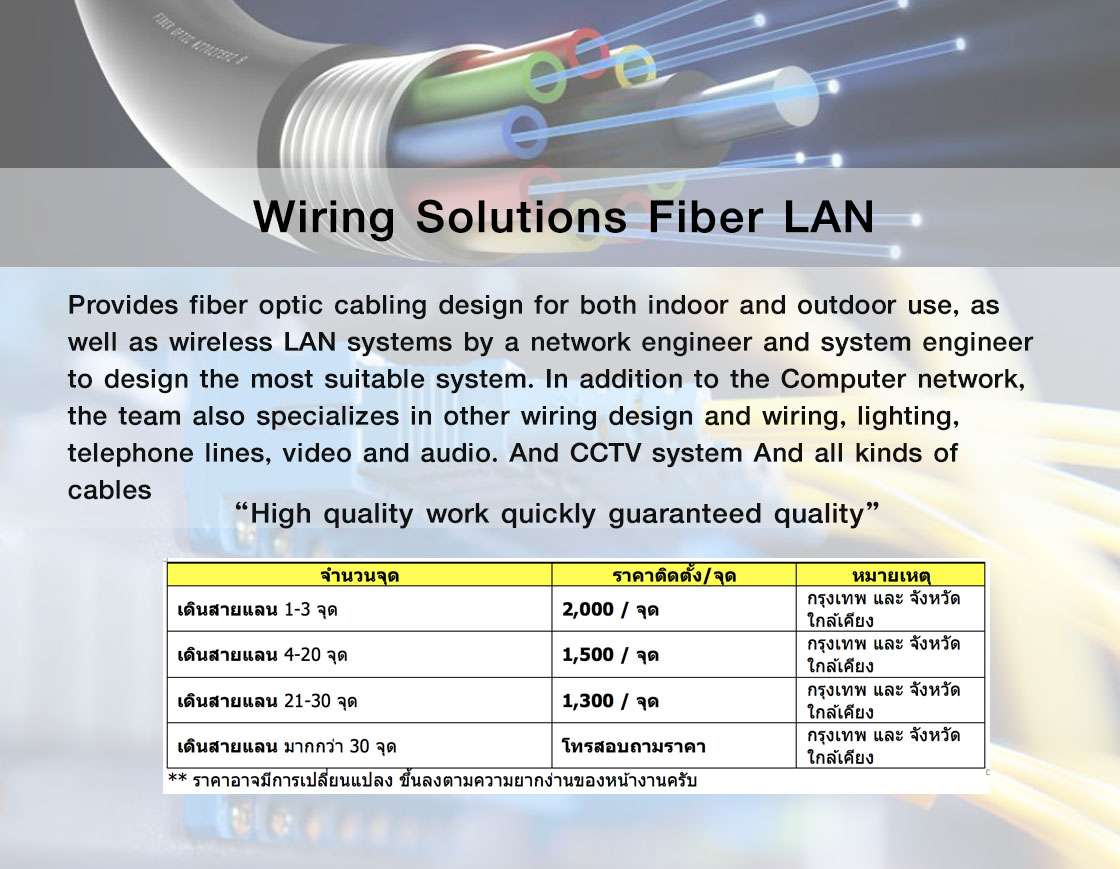 Stc Solution Technical Consultants Coltd Complete Wiring Solutions Ltd Fiber Lan